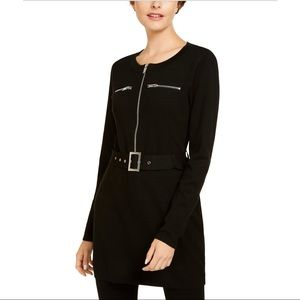 INC. Belted Tunic Sweater.